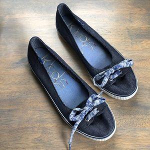 Keds denim-look sneakers, women's Sz 10